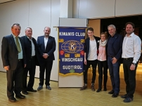 Benefizkonzert des Kiwanis Club Vinschgau und des A.S.V. Latsch Raiffeisen mit Simon Stadler 17.02.2018