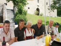 Traditionelles Grillfest mit der Lebenshilfe Vinschgau in Schloss Goldrain