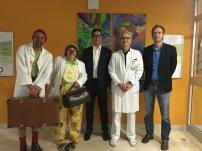 Kiwanis Club Bruneck unterstützt Humortherapie - Erlös der Faschingskrapfenaktion verdoppelt